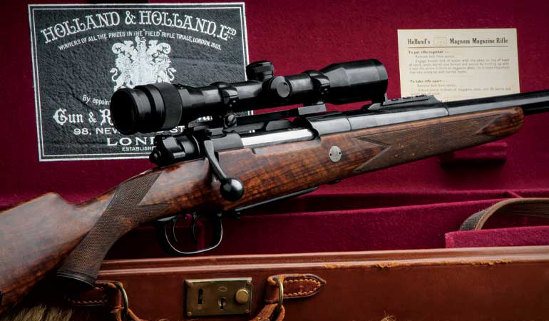 Holland And Holland >> Review Holland Holland Takedown Magazine Rifle