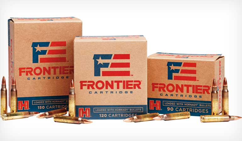 Hornady resurrected its Frontier Cartridge line of ammunition this year. Currently, 11 loads in .223 Remington and 5.56 NATO are offered.