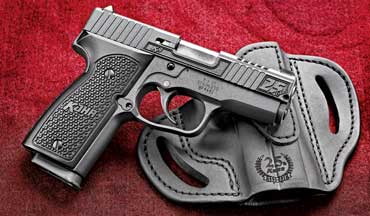The Kahr K9 9mm semiautomatic has been a premium personal-protection pistol for 25 years.