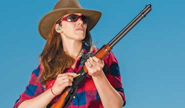 A lever-action rifle or carbine can be very effective for personal protection. Here are some tips and techniques for building lever-action fighting skills.
