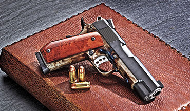 The painful part about Brian Lohman Manufacturing's new YMIR Model 1911 is that it carries a retail price of $6,999. Not many of us can afford to pay that much for a pistol, but if you think of this gun as being a piece of art, one that you can actually use and then pass down to an heir, then maybe the sting of its price is tolerable.