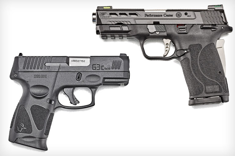 Smith & Wesson M&P9 Shield EZ vs. Taurus G3c