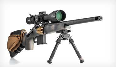 Light weight, extreme accuracy, and high magazine capacity are required for a Precision Rifle that can double as a hunting rig.
