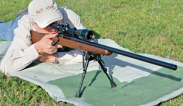 The .243 Winchester cartridge in the new Remington Model 783 Varmint rifle is a dandy combination.