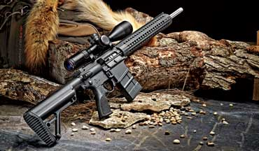 Steve Gash says the Rock River Arms Predator HP is a coyote's worst nightmare.