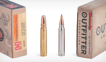 Effective, efficient, and affordable, the .375 Ruger and .416 Ruger are two of the best dangerous-game cartridges around.