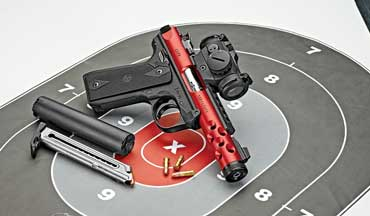 Nothing is more fun than shooting a cool, accurate .22 LR semiautomatic pistol, and Davidson's exclusive Ruger Mark IV 22/45 Lite is definitely that.