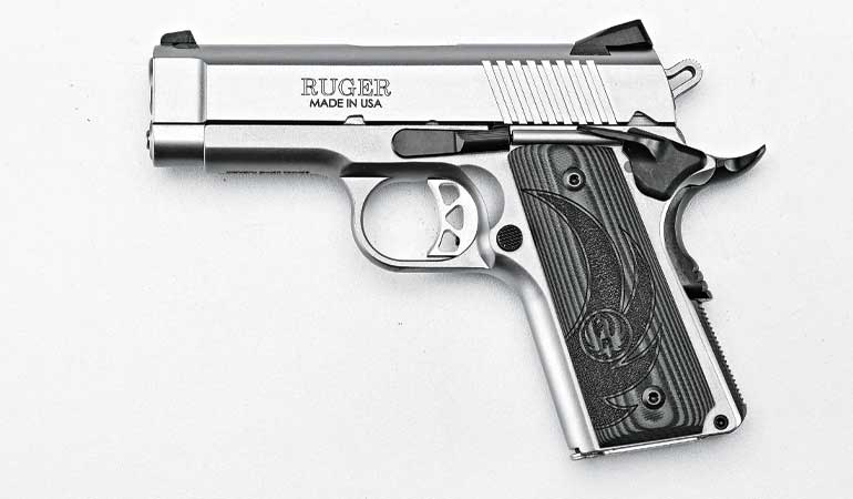 Review: Ruger SR1911 Officer-Style  45 ACP