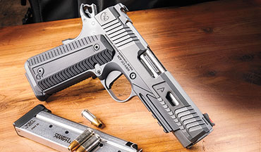 While most new handguns are chambered for the popular 9mm and .45 ACP, interest in .22 LR and 10mm Auto semiautomatic pistols appears to be resurging. Here's just a taste of the many exciting new handguns for 2020.
