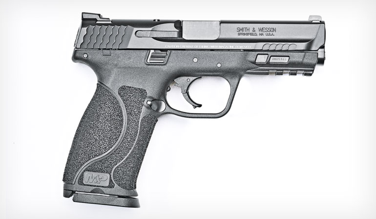 Last year S&W revamped its M&P semiautomatic pistols, renaming the line the M&P M2.0, and new this year is the M&P M2.0 Compact version.