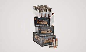 Speer's 9mm Gold Dot CarryGun ammo is highly accurate and produces consistent velocities, extreme spreads and standard deviations.