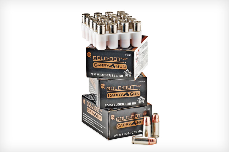 Speer 9mm Gold Dot CarryGun Ammo