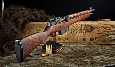 With a 16.25-inch-long barrel, a tritium front sight and an aperture rear sight, Springfield's M1A Tanker chambered in .308 is a handy defensive carbine.