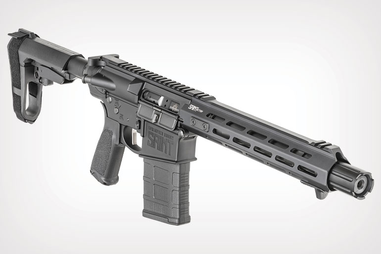 The new Springfield SAINT Victor .308 AR pistol is built for defense.
