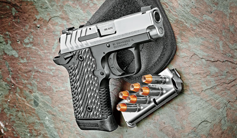 The brand-new 911 semiautomatic pistol represents some firsts for Springfield Armory.