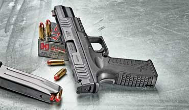 Springfield's striker-fired XDM semiautomatic is now chambered for the powerful 10mm Auto cartridge.
