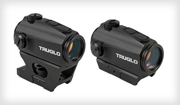 TRUGLO has a new series of red-dot optics designed for close-quarter, fast-sight acquisition scenarios. Two optics are offered: IGNiTE 30mm and IGNiTE Mini.