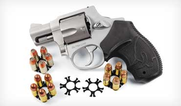 The .380 ACP might seem like an unusual chambering for a revolver, but the little Taurus 380 UL revolver has its advantages.