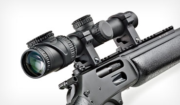 The Trijicon AccuPoint 1-6X 24mm Riflescope features a variety of crosshair options, and is great for hunting the timber with your favorite woods gun as well as competing in action-shooting matches with your preferred AR.