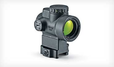 The Trijicon MRO (Mini Rifle Optic) is now offered with a green dot.