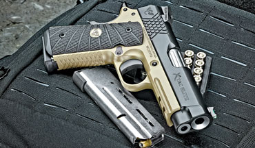 The Wilson Combat X-TAC Elite Compact is a precisely built, wonderfully refined, utterly reliable Model 1911.