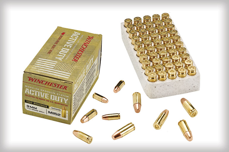 Winchester Active Duty 9mm Ammo Review