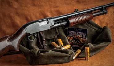 Once repaired and reconditioned, the Winchester Model 12 20-gauge shotgun has become the author's go-to vintage field gun.