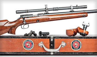The Winchester Model 52 is a fine, handbuilt smallbore match rifle that was once known as the king of the .22s among competition shooters.