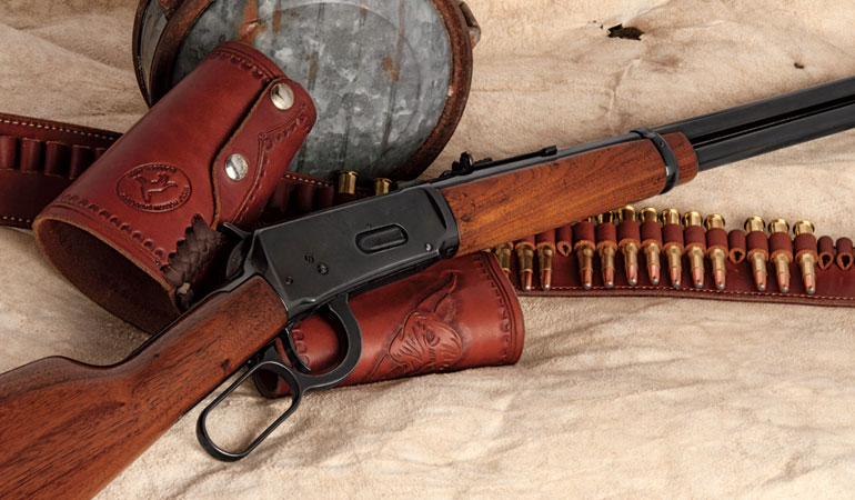 No firearm is more profoundly entrenched in American hearts than Winchester's legendary lever-action Model of 1894.