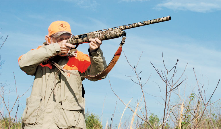 Winchester's SX4 semiautomatic shotgun is easy to carry all day, balances perfectly, swings smoothly, and is reasonably priced.