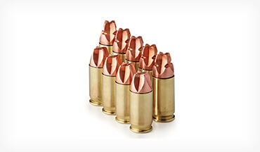 As the name implies, Black Hills's HoneyBadger handgun ammunition creates unlimited destruction.