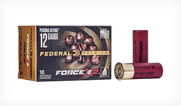 Personal-Defense Shotshells The new Force X2 shotshells utilize 00 buckshot pellets that are specially engineered to split into two pieces upon impact.