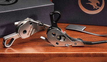 Nighthawk Custom's Model 1911 Drop-In Trigger System is easy to install and can greatly improve a 1911's trigger pull and, consequently, its accuracy.
