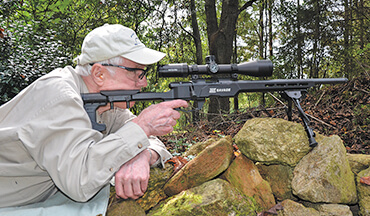 Savage's B22 Precision rimfire rifle is great for formal competition and small-game and close-range varmint hunting, too.