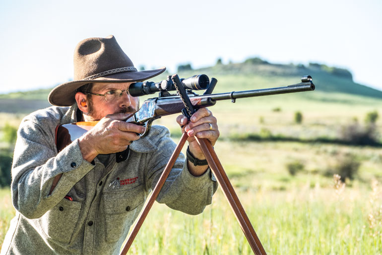 Uberti 1885 Courteney Stalking Rifle Review
