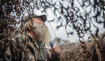 For a true southern green-tree experience, head down the L'Anguille River, Arkansas, and hunt with a legend.