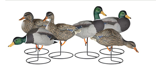 Dakota Decoy X-Treme Full Body Painted Head Mallard Decoys
