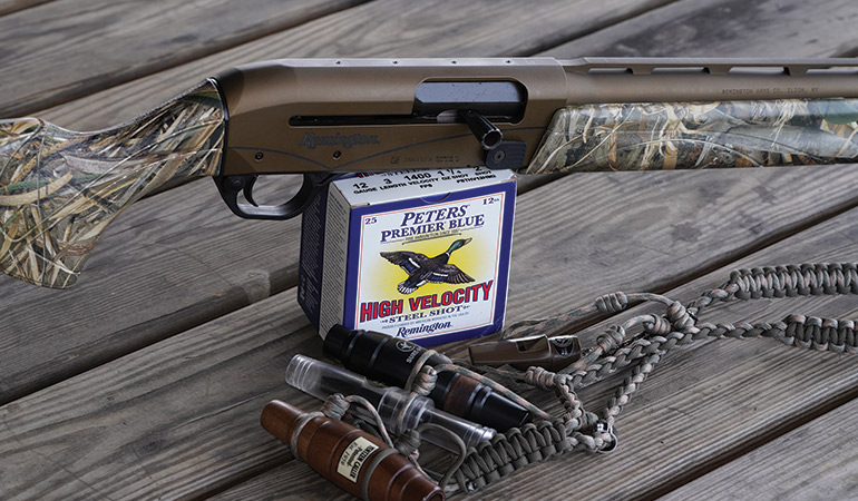 Review: Remington V3 Waterfowl Pro & Peters Premier Blue High Velocity Steel Shot