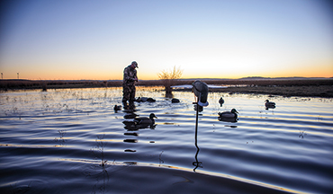 There are times when ducks are more susceptible to diminutive decoy rigs'here's how YOU can take advantage.