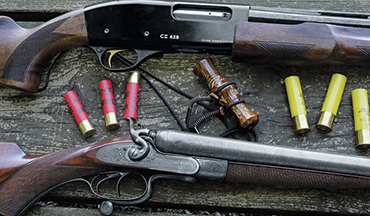 Know the limits of your small gauge gun, and it can do the job.
