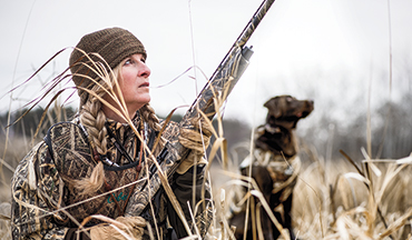 Duck blinds are no longer just a boys club - a good thing for all of us.