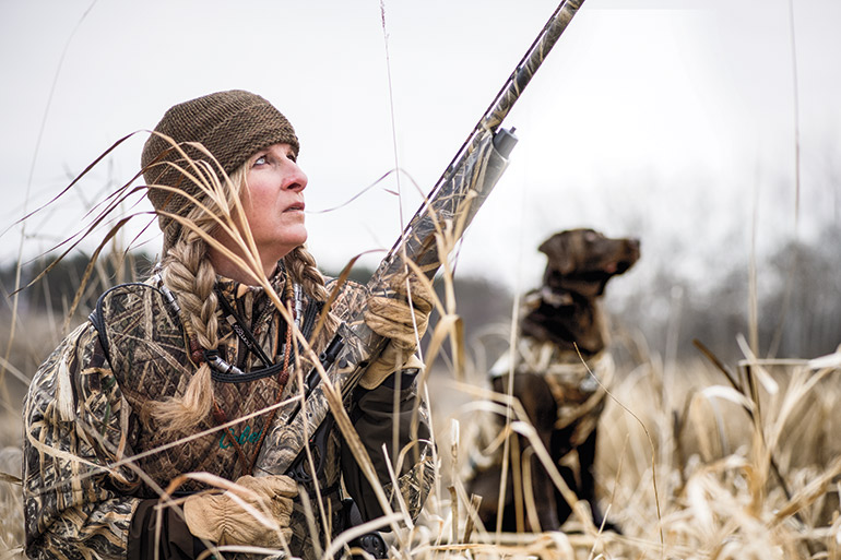 Lessons for Women Learning to Waterfowl Hunt