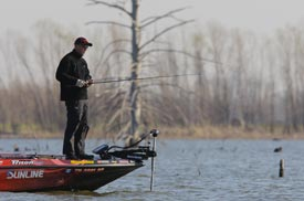 Mother Nature Controls Fate Of 2012 Bassmaster Classic