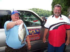 Impressive Limit Wins Crappie USA Event on Lake Cumberland