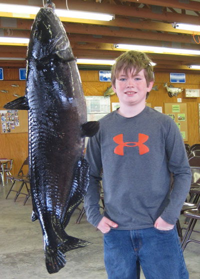 Dallas Youth Catches Record Blue Catfish