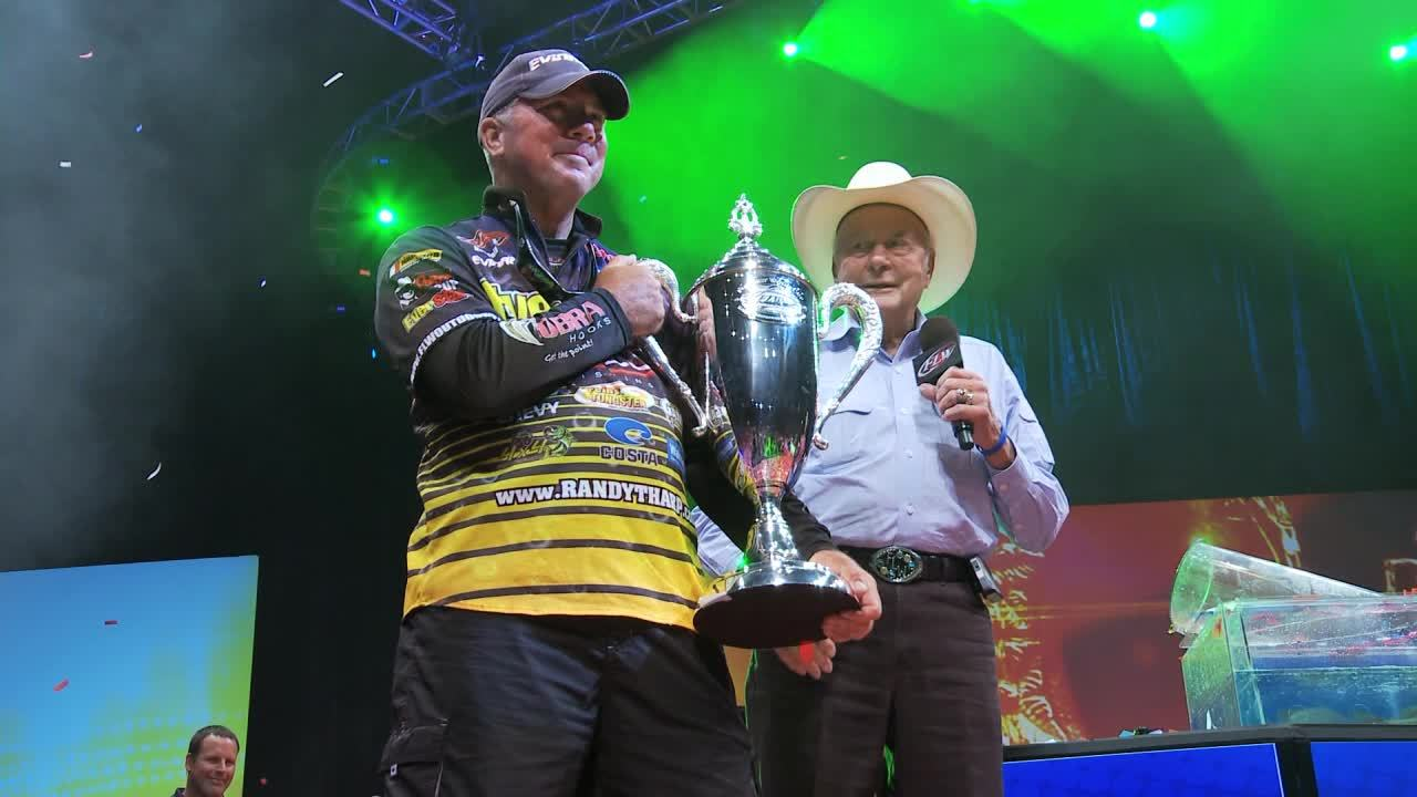 Interview With 2013 FLW Forrest Wood Cup Winner Randall Tharp