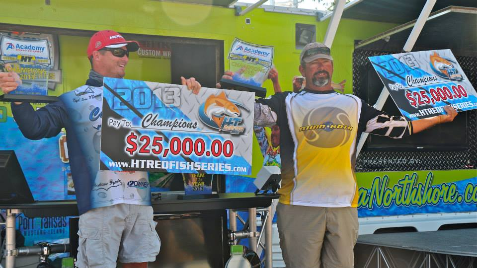 Team Louisiana Redfish Masters weigh in 63.37 pounds in 4-day championship