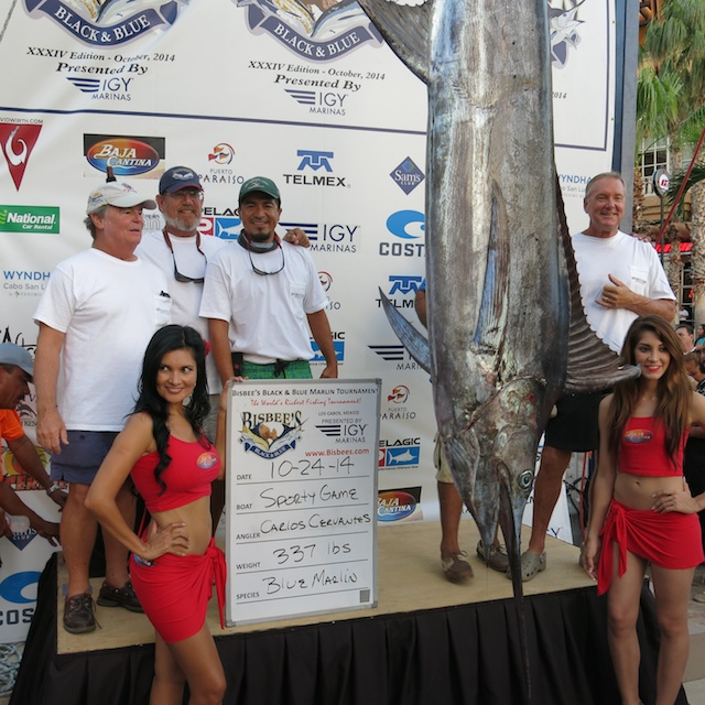 Last Day Drama at Bisbee's Black & Blue Marlin Tournament