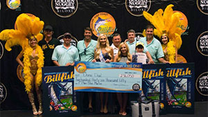 Teenager Katie Gonsoulin and her team aboard Done Deal were the big winners of the 2015 Mississippi Gulf Coast Billfish Classic