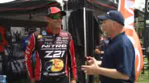 Major League Fishing and Bassmaster Elite Series pro Kevin VanDam admits the number of rod and reel choices can be overwhelming to new anglers. KVD suggest seeking out advice by asking a lot of questions to industry experts.